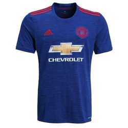adidas Performance MANCHESTER UNITED FC AWAY Koszulka klubowa blau/rot