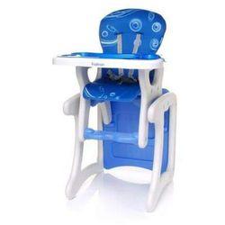 Krzesełko do karmienia Fashion niebieskie