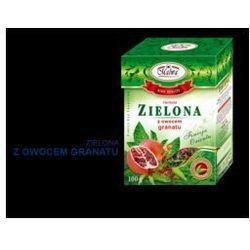 Herbata zielona z granatem 100 g Malwa