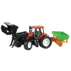 Dromader, traktor z maszyną