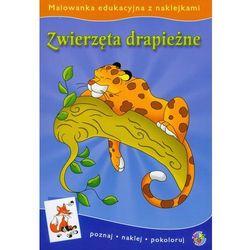 Malowanki edukacyjne Zwierzęta drapieżne (opr. miękka)