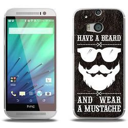 Fantastic Case - HTC One M8s - etui na telefon Fantastic Case - have a beard