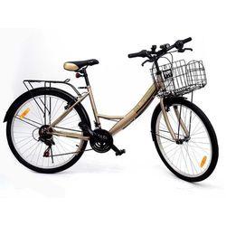 Rower miejski 3TRIP WAVE złoty 17
