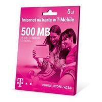 Starter T-Mobile 500 MB/ DARMOWY TRANSPORT DLA ZAMÓWIEŃ OD 99 zł