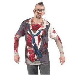 Koszulka Zombie - przebrania dla dorosłych - XL
