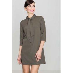 3b39f6537b72bd suknie sukienki 1102 8 sukienka zawiazywana na szyi - porównaj zanim ...