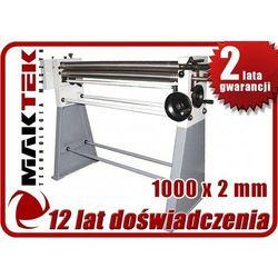 WALCARKA ZWIJARKA WALCE DO BLACHY MAKTEK WR 1000 x 2mm EWIMAX