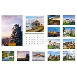 Kalendarz 2016 13 planszowy A3 Pałace i zamki