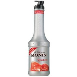 Puree Monin Strawberry - Truskawka 1l