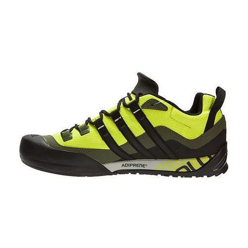 Buty adidas Terrex Swift Solo Czarny   Żółty   Żółty Neon