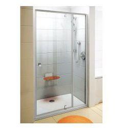 Drzwi prysznicowe PDOP2-100 Ravak Pivot obrotowe piwotowe dwuelementowe 03GA0U00Z1