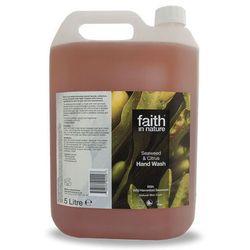 Organiczny płyn do mycia rąk z alg morskich, 5 litrów - Faith In Nature
