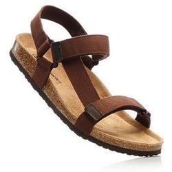 Sandały trekkingowe bonprix brązowy