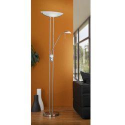 Eglo - Baya lampa podłogowa nikiel mat