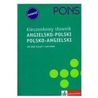 PONS Kieszonkowy Słownik Angielsko-Polsko-Angielski