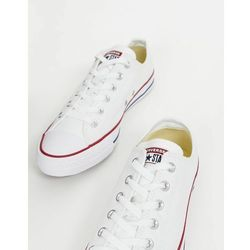 d649fd06b9ca93 converse chuck taylor all star fulton leather trainers in white ...