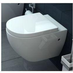 CARLO RIMLESS Miska WC wisząca bezrantowa + deska wolnoopadająca