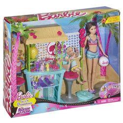 Barbie wakacyjny zestaw z lalką Tiki Hut