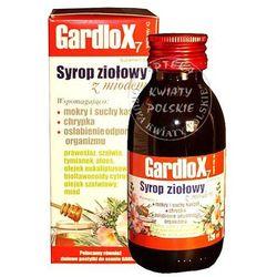 Gardlox, syrop ziołowy z witaminą C o smaku miodowym, 120 ml