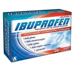 Ibuprofen Aflofarm tabl.drażow. 0,4g 20tab
