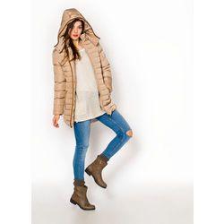 Zimowa kurtka ze wstawkami i zipami