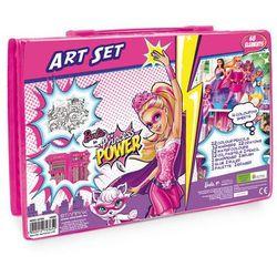 Starpak, Zestaw artystyczny, Barbie in Princess Power, 68 elementów