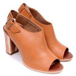 Sandały damskie Ryłko 8AGW7T5 jasny brąz-różnokolorowy-MS5 35 brązowy
