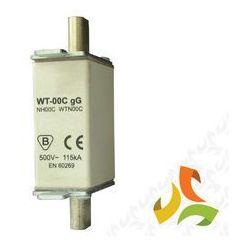 Wkładka topikowa zwłoczna gg WT-00C 20A, bezpiecznik przemysłowy ETI