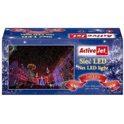 Activejet Lampki choinkowe Sieć 100LED (NLB10012CO) Darmowy odbiór w 19 miastach!