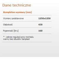 Sanplast Classic  125 x 125 (610-010-0220-10-000)