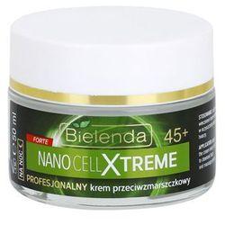 Bielenda Nano Cell Xtreme przeciwzmarszczkowy krem na noc 45+ + do każdego zamówienia upominek.