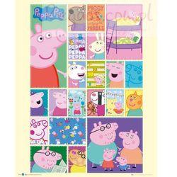 Świnka Peppa Kolaż - plakat