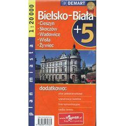 Bielsko-Biała + 5 - plan miasta (opr. broszurowa)
