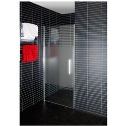 DUSCHY DOOR Drzwi prysznicowe 80x190, transparentne + mrożone 5233-80