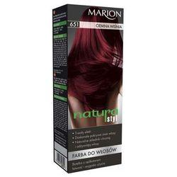 Marion Farba do włosów Natura Styl nr 651 ciemna wiśnia