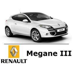 Renault Megane III Coupe - Zestaw Premium Oświetlenie wnętrza LED - 7 żarówek