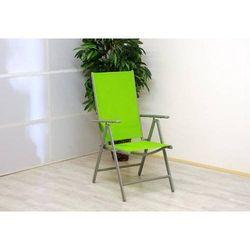 Rovens.pl Krzesło składane - Krzesło aluminiowe - Zielone