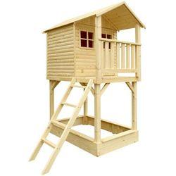 Domek dla dzieci Elza 156x103,5x245cm Limba
