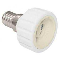 Zext Przejściówka adapter żarówki E14 na GU10 GUE1