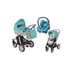 Wózek wielofunkcyjny 3w1 Lupo Dotty Baby Design + Cabrio Fix GRATIS (ocean)