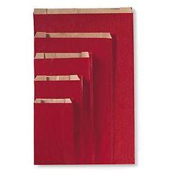 Czerwona torebka papierowa na prezent 160x250x80 mm