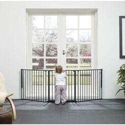Bramka ochronna Baby Dan FLEX L - czarna