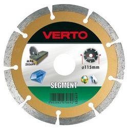 Tarcza do cięcia VERTO 61H3S5_C 125 x 22.2 diamentowa segmentowa
