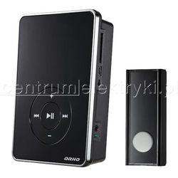 ORNO DZWONEK BEZPRZEWODOWY FOLK DC BATERYJNY Z LEARNING SYSTEMEM MP3 200m