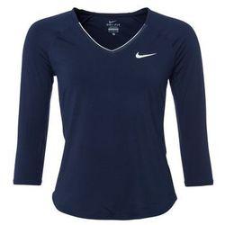 Nike Performance PURE Bluzka z długim rękawem obsidian/white/white