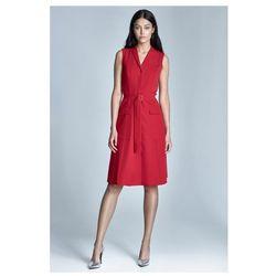 Sukienka Szmizjerka - czerwony - S72