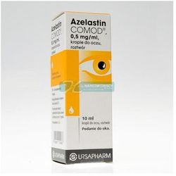 Azelastin COMOD 0,5mg/ml Krople do oczu 10ml