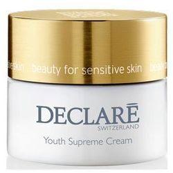 Declare - Youth Supreme Cream - Młodzieńcza doskonałość, Wzbogacony krem przeciwzmarszczkowy - 50 ml - DOSTAWA GRATIS! Kupując ten produkt otrzymujesz darmową dostawę !
