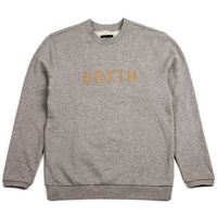 bluza BRIXTON - Murray Heather Grey (0304) rozmiar: XL