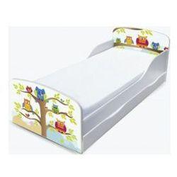 Łóżko dziecięce - sowa z szufladą